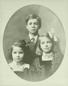 Portrait found in Merriam KS--three children